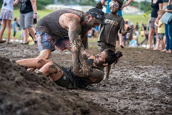 Mud World Logan 2018 Session 3 MUDDY DISCO (Sat 5:30pm - 7:30pm)