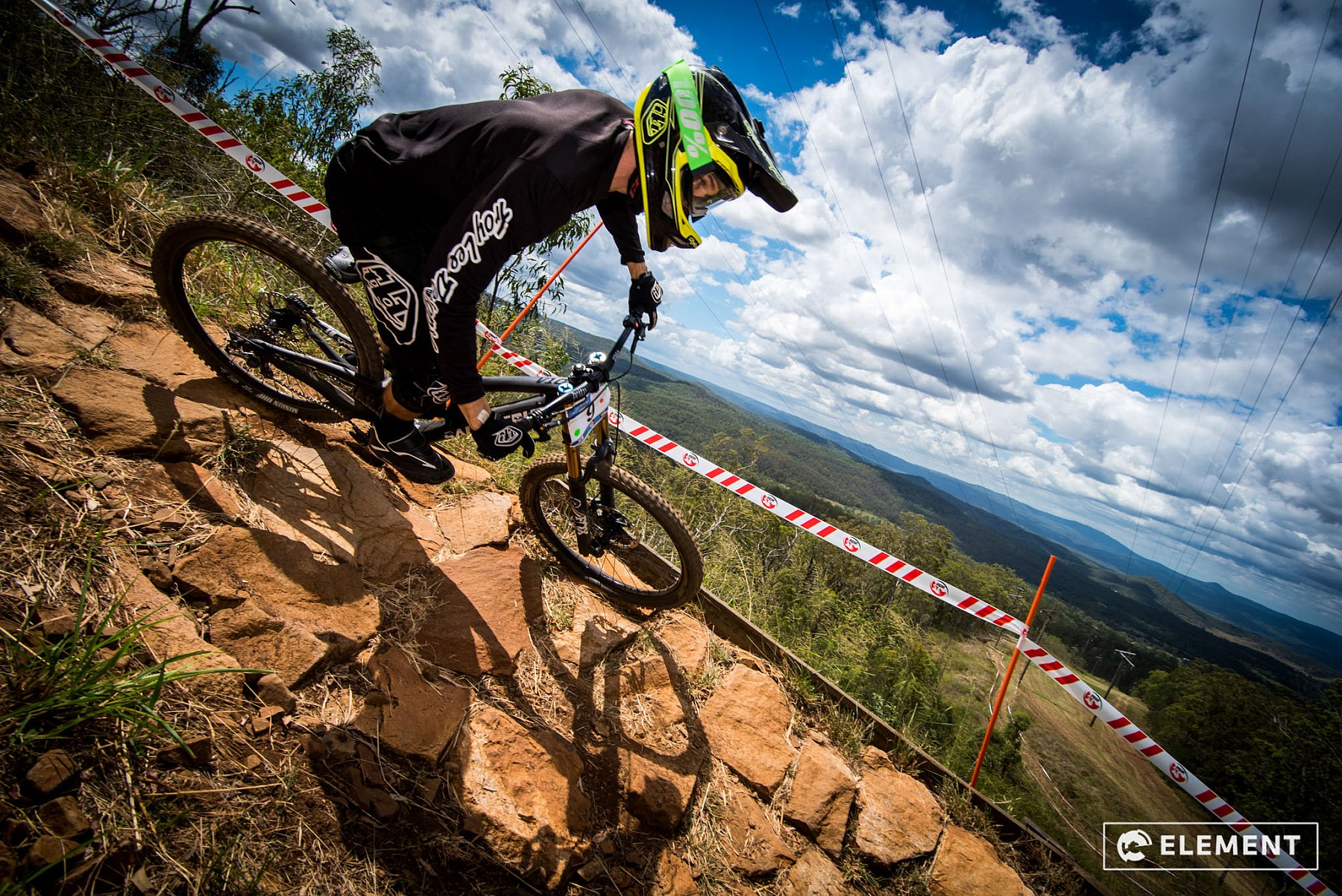 Rider on Toowoomba Range by Element Photo and Video Productions