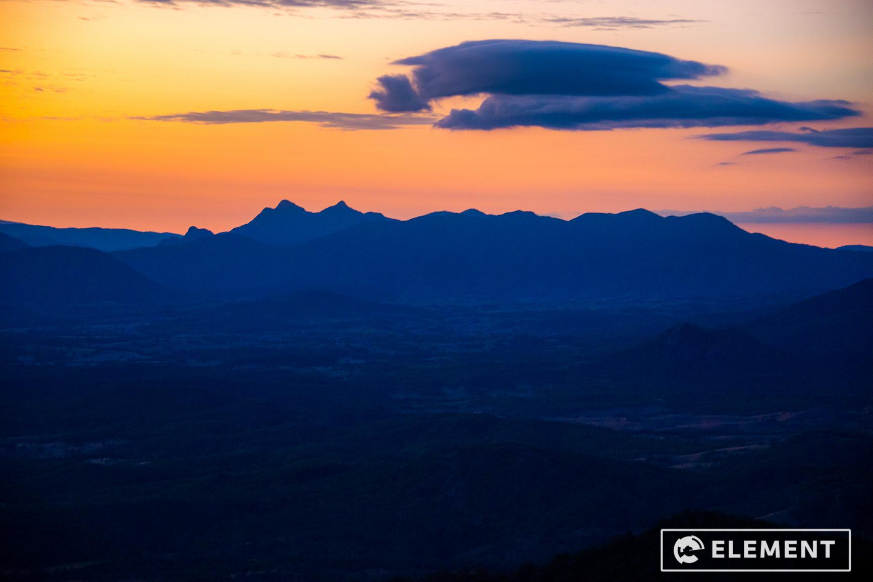 Mt Mitchell sunrise beautiful location
