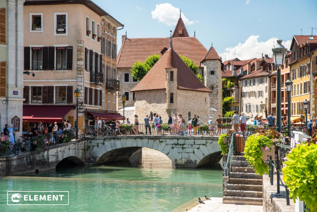 "Annecy, in the south-east of France, is known as the ""Venice of the Alps"""